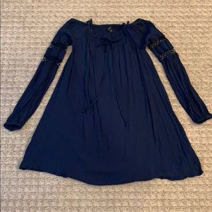 Guess Navy Blue Dress